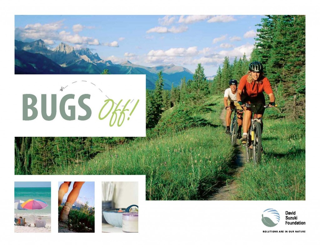 David Suzuki guide to safe bug control